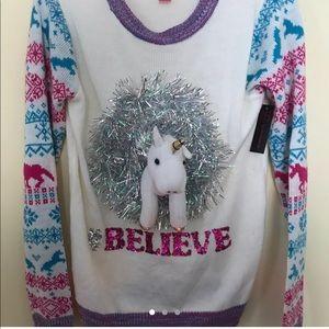 Never worn and new unicorn sweatshirt 🦄💕💜